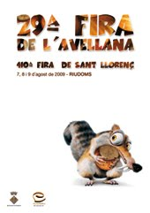 CARTEL FIRA AVELLANA ©FRESHDESIGN